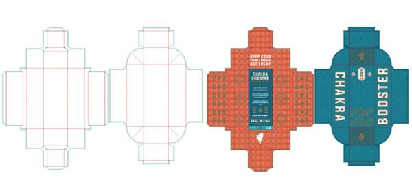 Chakra Booster box dyeline