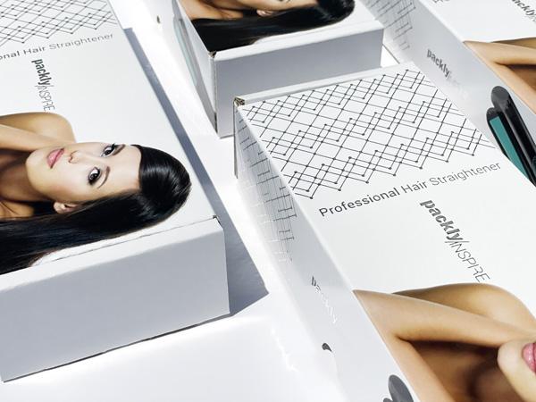 high quality printing detail on corrugated box