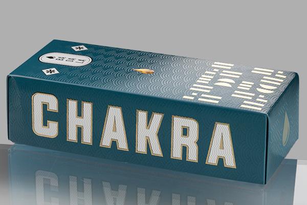 Il packaging vincente: Charkra Booster scatola chiusa