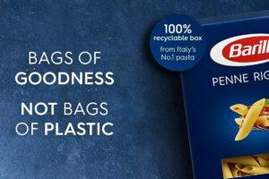 Sostenibilità del packaging: la strategia di Barilla