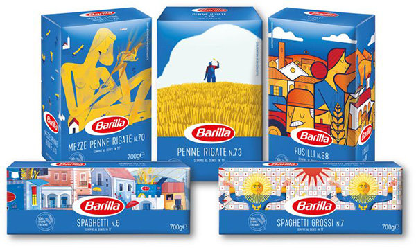 Limited-edition packaging illustrating the sustainable wheat supply chain