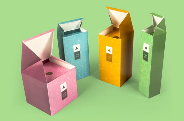 Deluxe bellow boxes with auto bottom