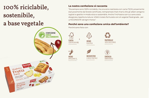 The eco-friendly packaging