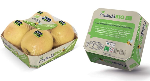Un packaging completamente compostabile