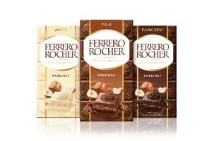Premium chocolate bars: new by Ferrero