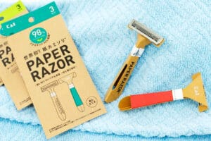 Disposable but sustainable: the smart cardboard razor