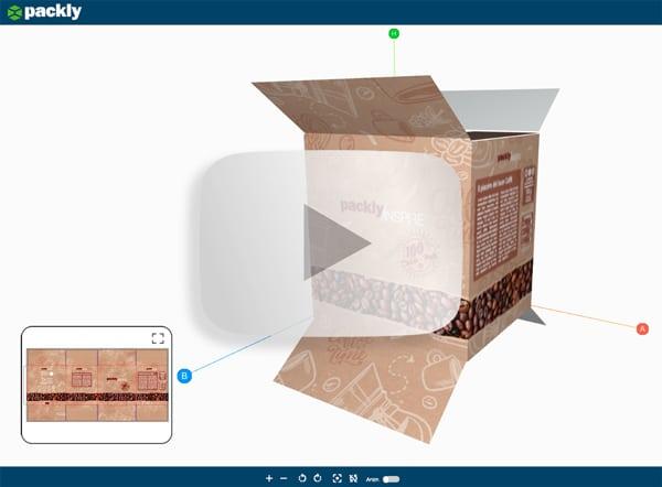 Anteprima 3D scatola americana per cialde