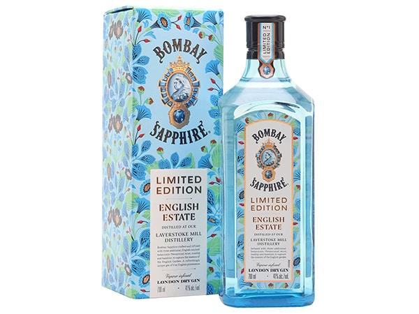 The Bombay Sapphire gin luxury packaging