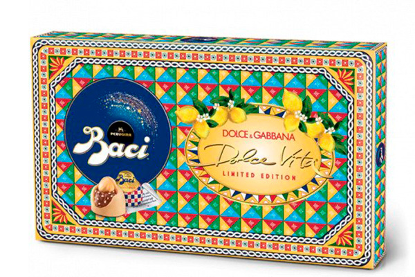Dolce and Gabbana for Perugina packaging