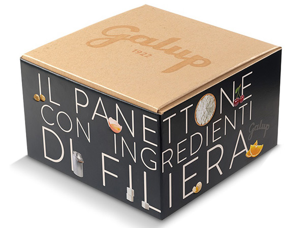 Packaging for gourmet panettone