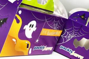 Scatola per Halloween: un packaging da urlo